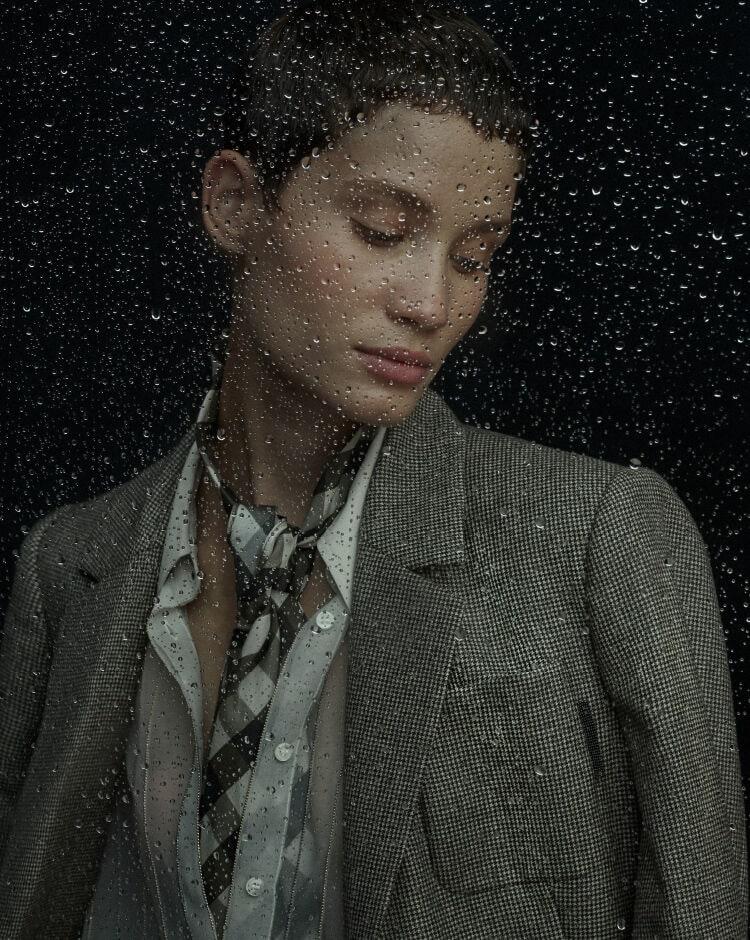Busy Amidst Rain - Inspiration