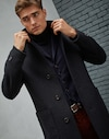 Outerwear Jacket Navy Blue Man Brunello Cucinelli