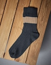 Socks Navy Blue Man Brunello Cucinelli