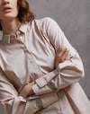 Cotton Shirt Nude Woman Brunello Cucinelli