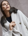 Strickjacke Hafer Damen Brunello Cucinelli