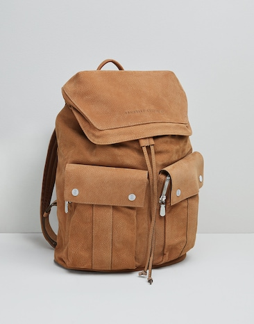 7f31db0a7 Men's Bags and backpacks in leather | SS19 | Brunello Cucinelli