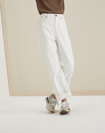 Außergewöhnlich Hosen und Jeans für Damen | FS 2019 | Brunello Cucinelli @DH_33