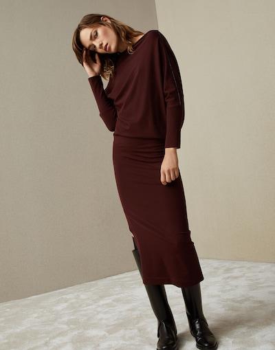 Kleid 182m0r25a4381 Damen Kleider Brunello Cucinelli
