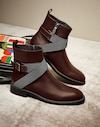 Boots Chocolate Woman Brunello Cucinelli