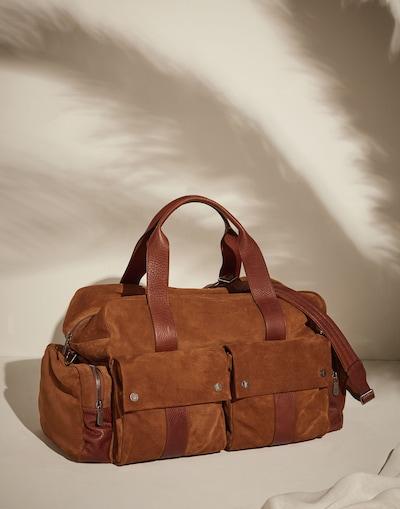 7210154face2 Дорожная сумка Янтарный Мужчина 1 - Brunello Cucinelli