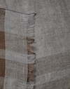 Solid Scarf Grey Man Brunello Cucinelli