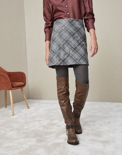 8c43f0aa8c Miniskirt (182MA598G2745C001) - Brunello Cucinelli