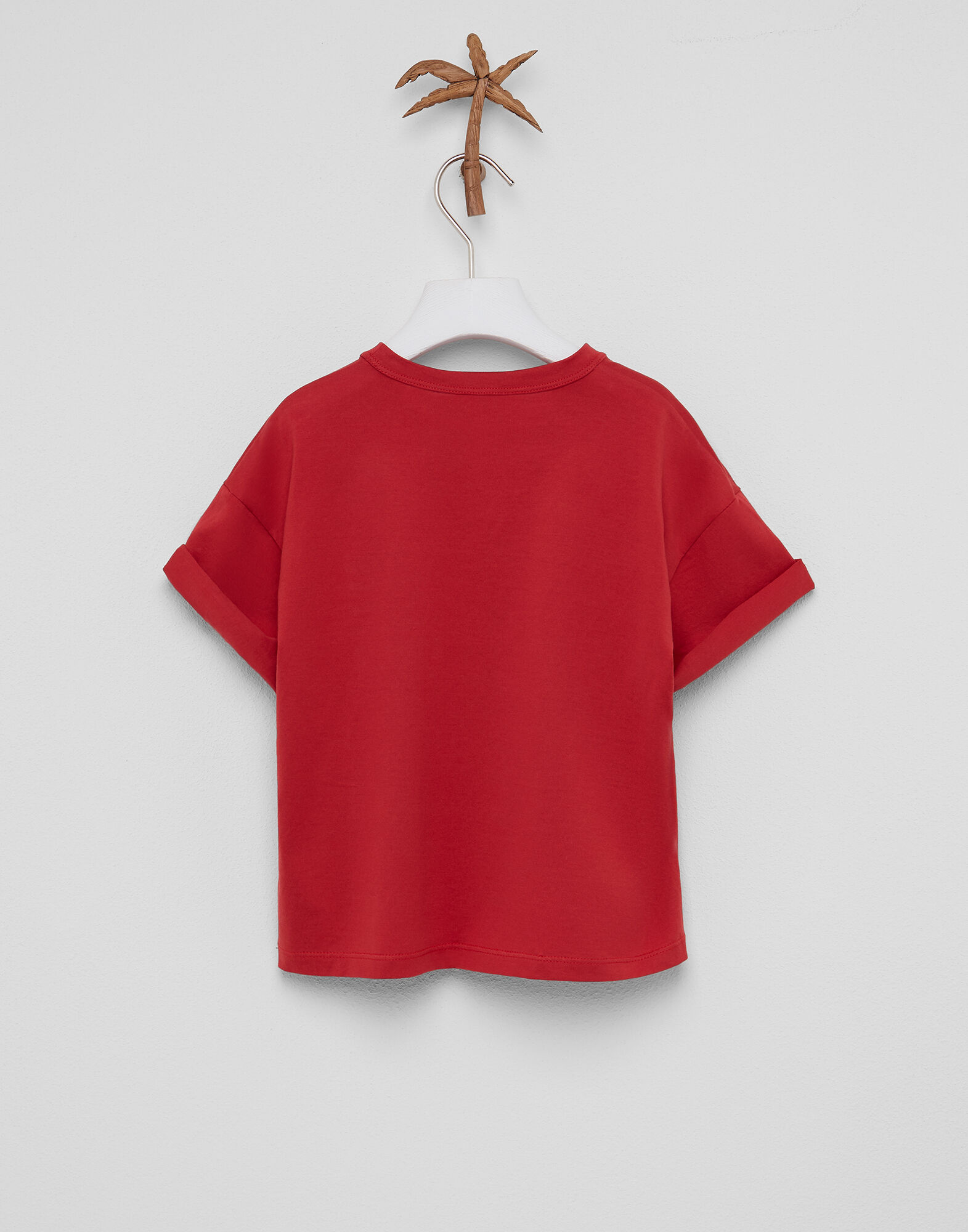 RED WAGON T-shirt in Cotone con Ricami Bambina