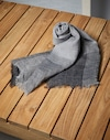 Patterned Scarf Grey Man Brunello Cucinelli