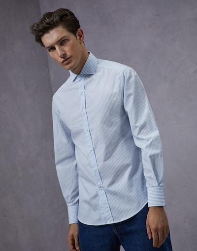 657c9253ec2fb0 French Collar Shirt (182MN6001718C12005) - Brunello Cucinelli