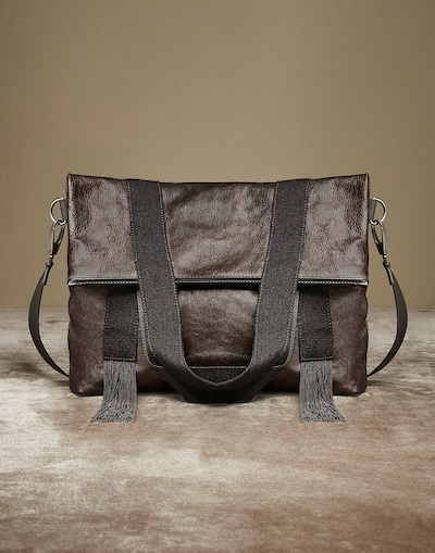 f34c07a8949 Shopper Bag (182MBRND1851C665001) - Brunello Cucinelli