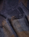 Solid Scarf Navy Blue Man Brunello Cucinelli