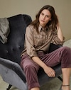 Silk Shirt Walnut Woman Brunello Cucinelli