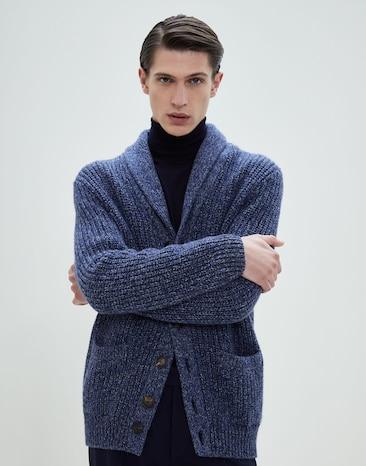 newest 309f4 c6cdf Cardigan e maglie uomo in cotone | Brunello Cucinelli