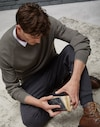 Crewneck Sweater Military Man Brunello Cucinelli