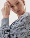 V-neck Sweater Tourmaline Woman Brunello Cucinelli