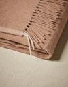 Plaids & Blankets Light Brown Lifestyle Brunello Cucinelli