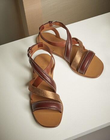 90fd91b6c47 Leather sandals. € 750