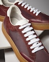 Sneakers Bordeaux Man Brunello Cucinelli