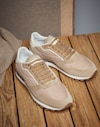 Sneakers Beige Man Brunello Cucinelli