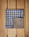 Pocket Square Navy Blue Man Brunello Cucinelli