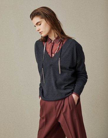 Womens Sweaters Cardigans Fw 2018 19 Brunello Cucinelli