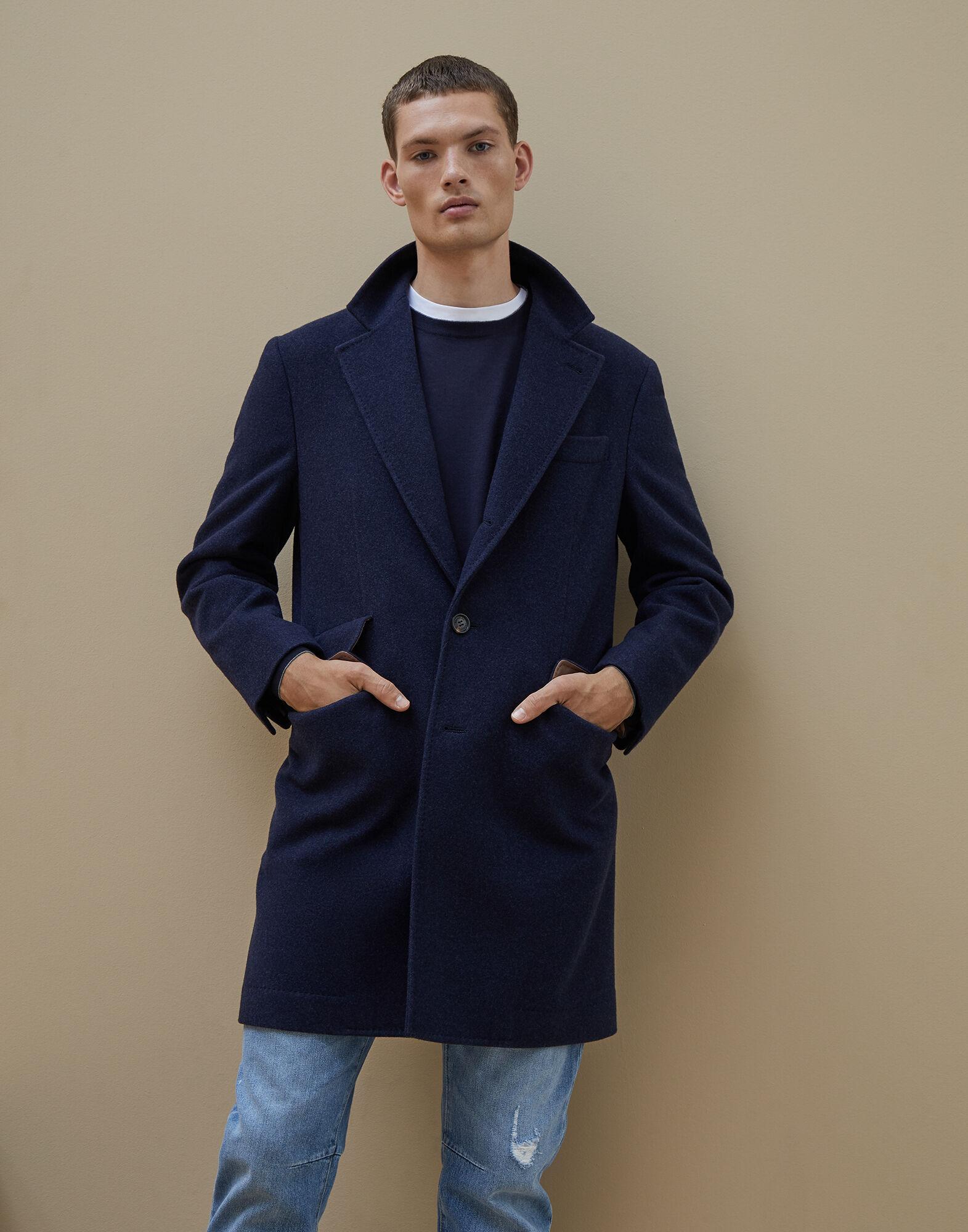 cappotto avvolgente uomo