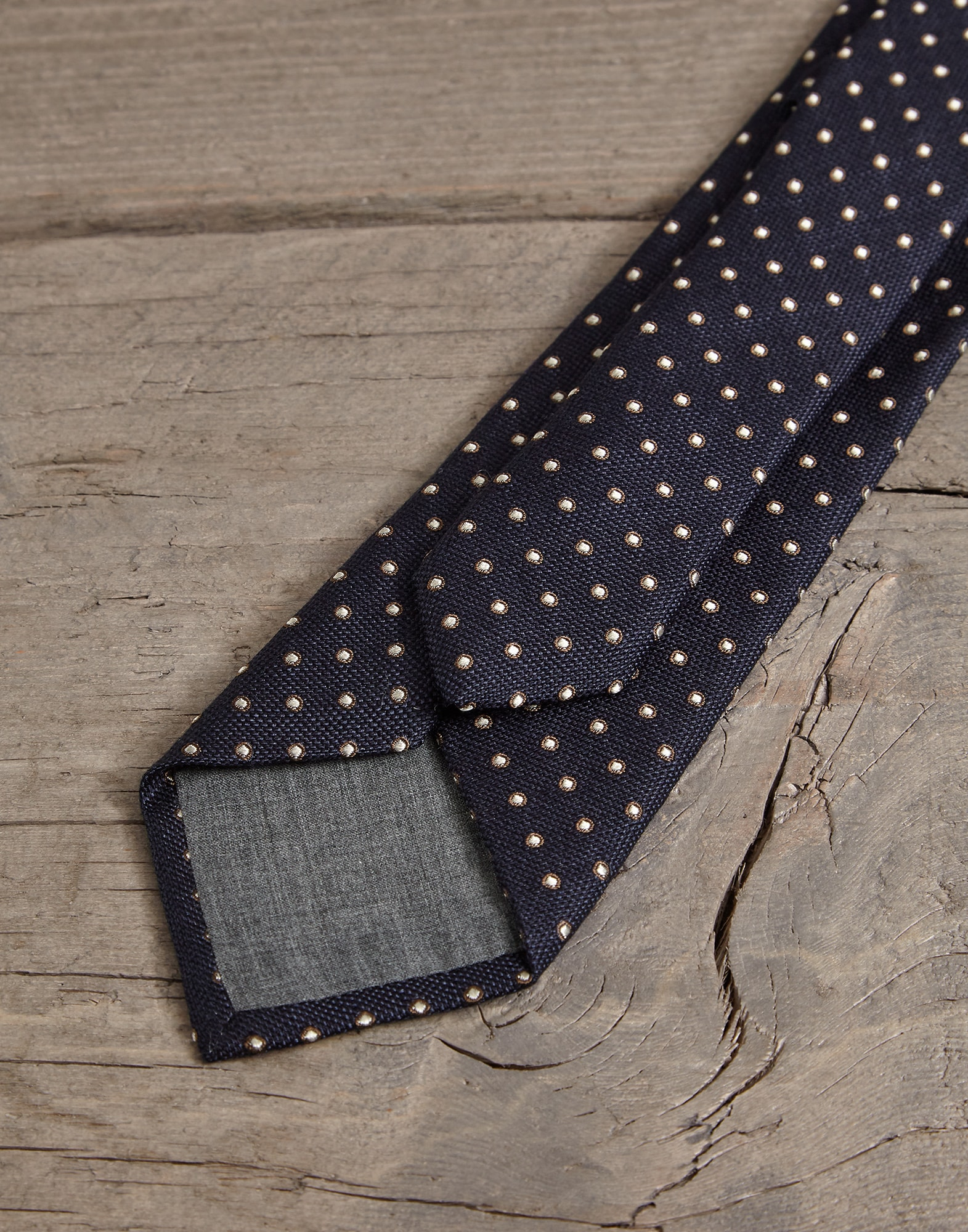 Tie Navy Blue Man 2 - Brunello Cucinelli