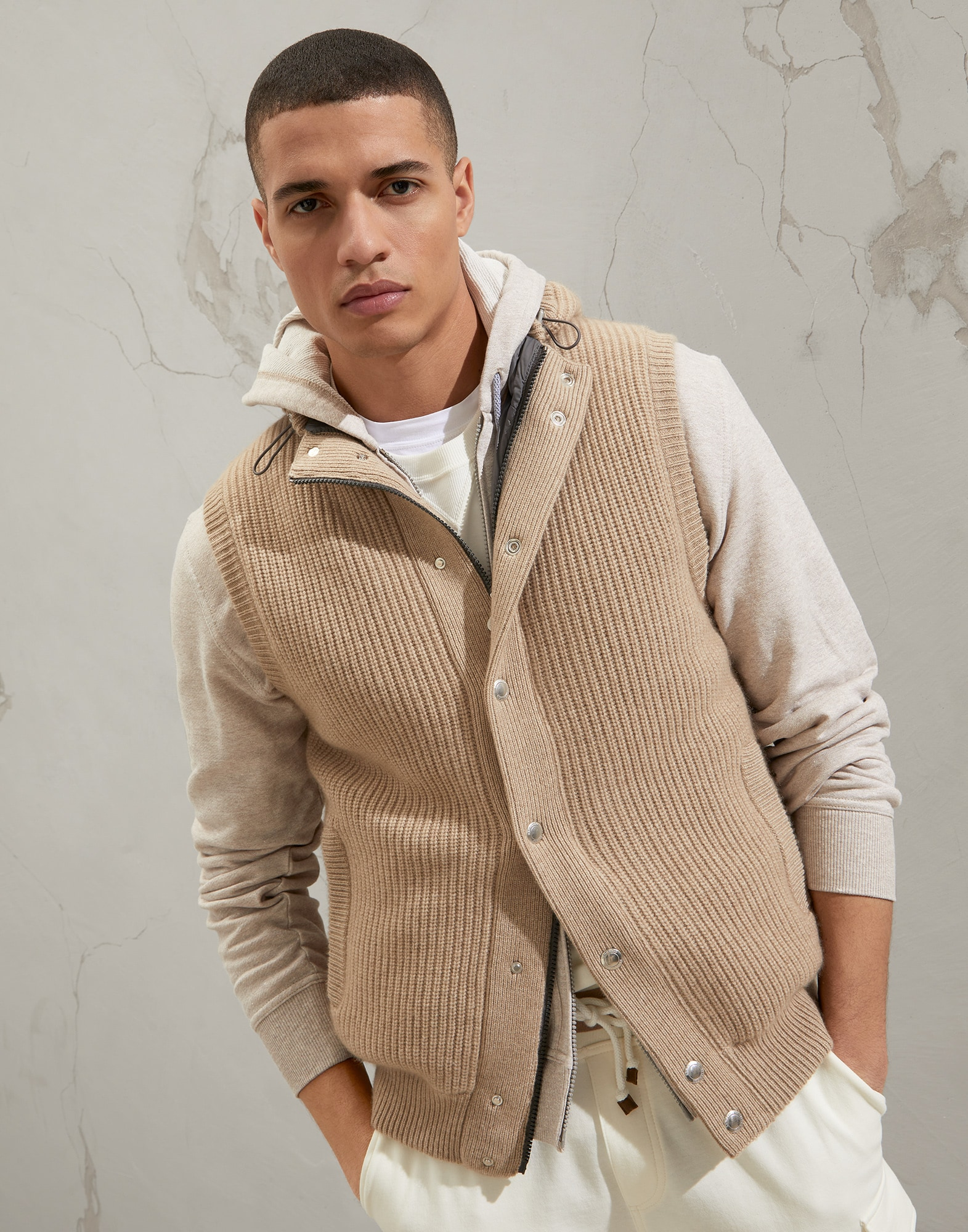Knit Outerwear - Front view