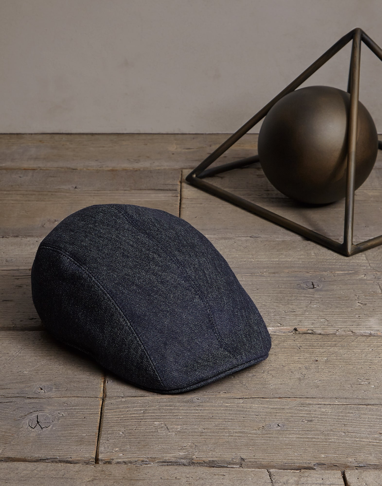 Hat Denim Man 0 - Brunello Cucinelli