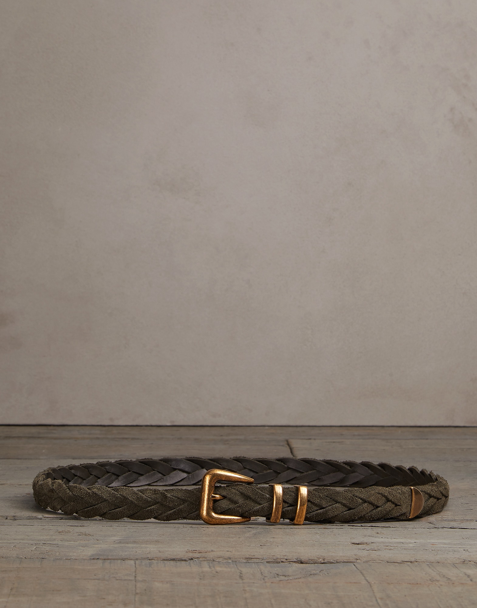Belt Olive Man 0 - Brunello Cucinelli