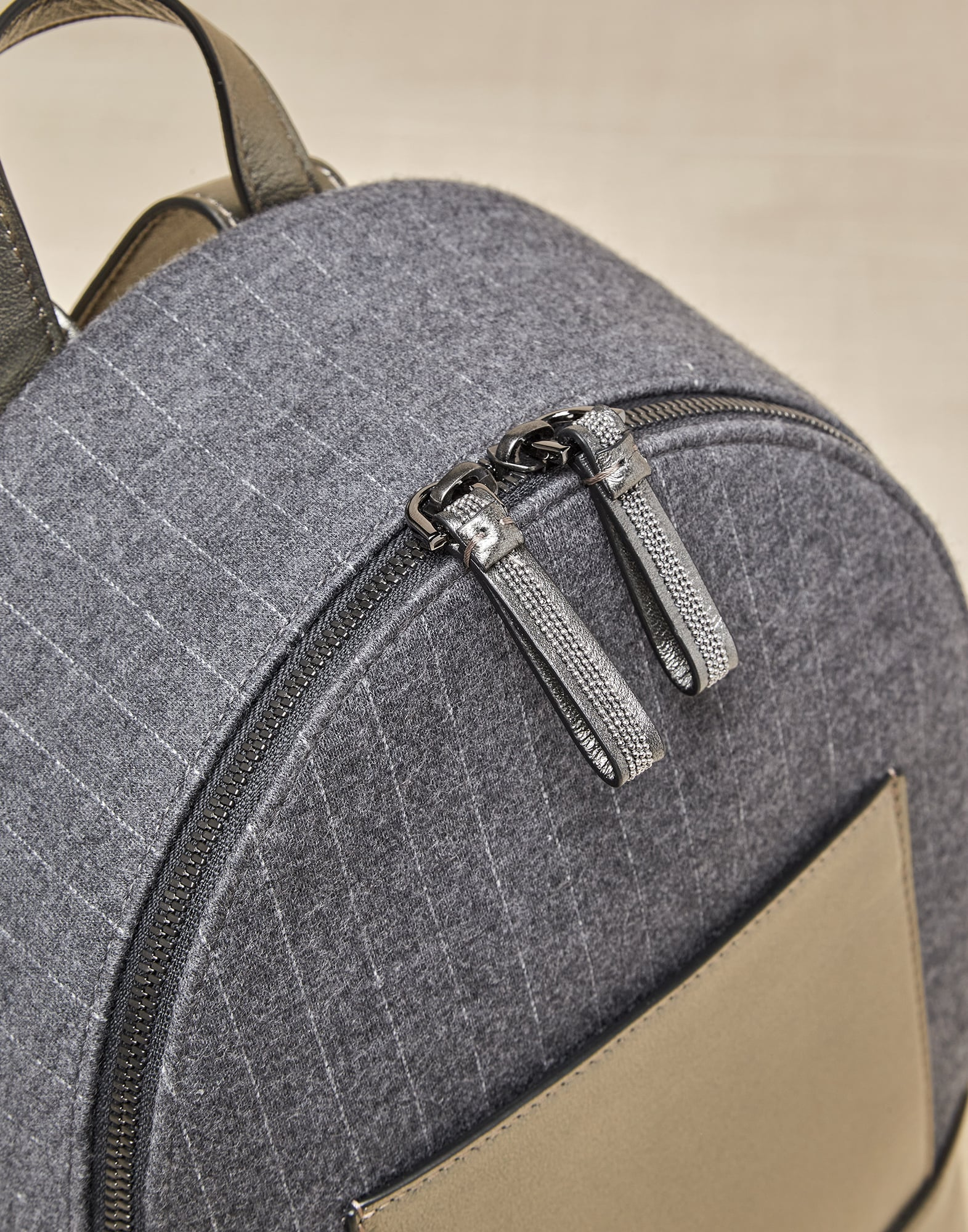 Backpack Grey Girl 2 - Brunello Cucinelli