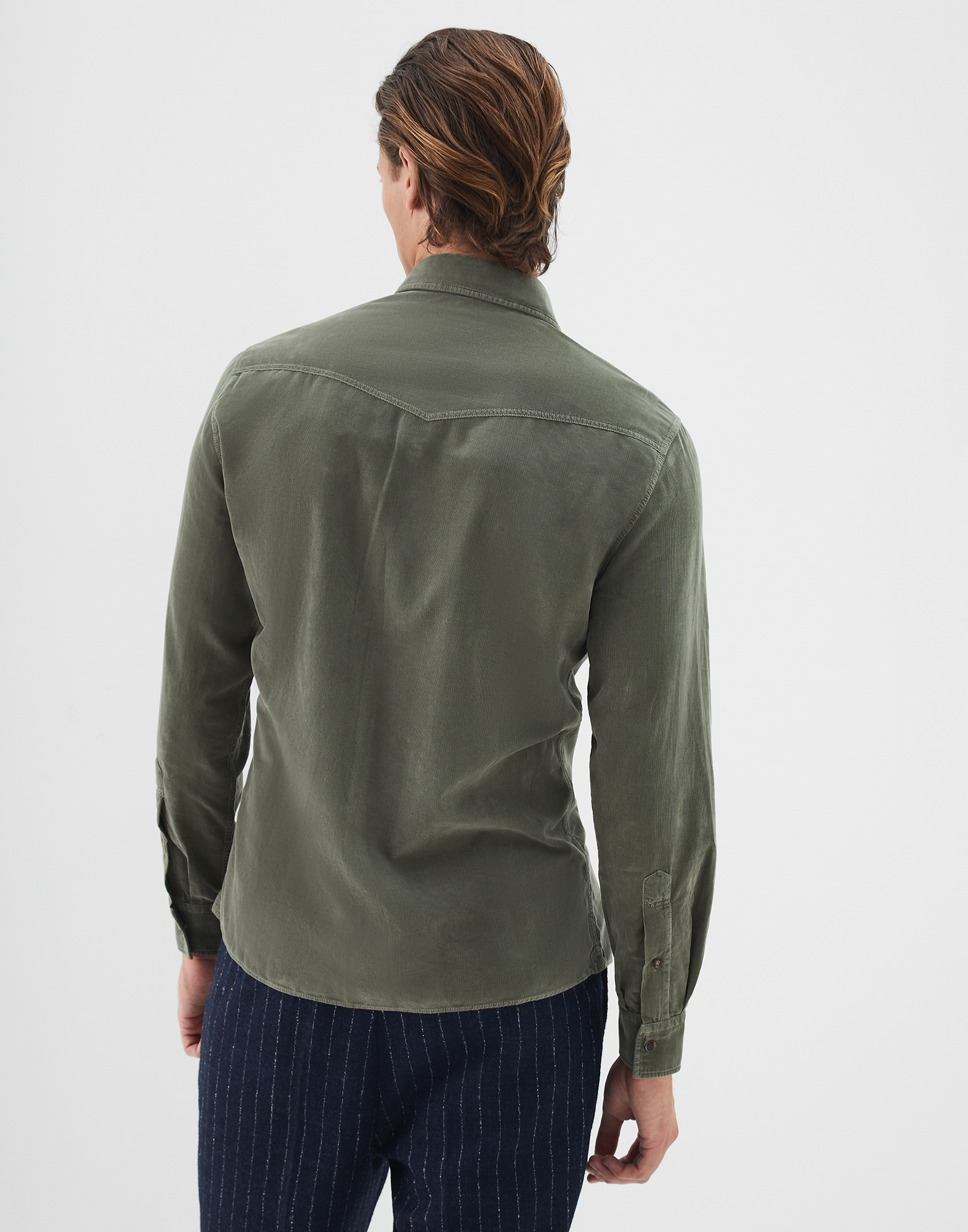 Casual Shirt Military Man 2 - Brunello Cucinelli