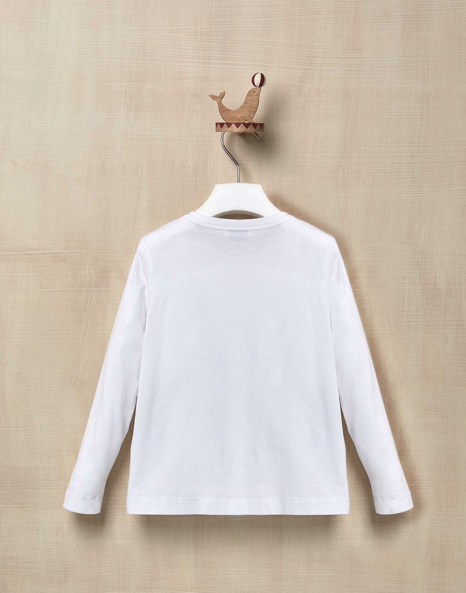 T-Shirt White Girl 2 - Brunello Cucinelli