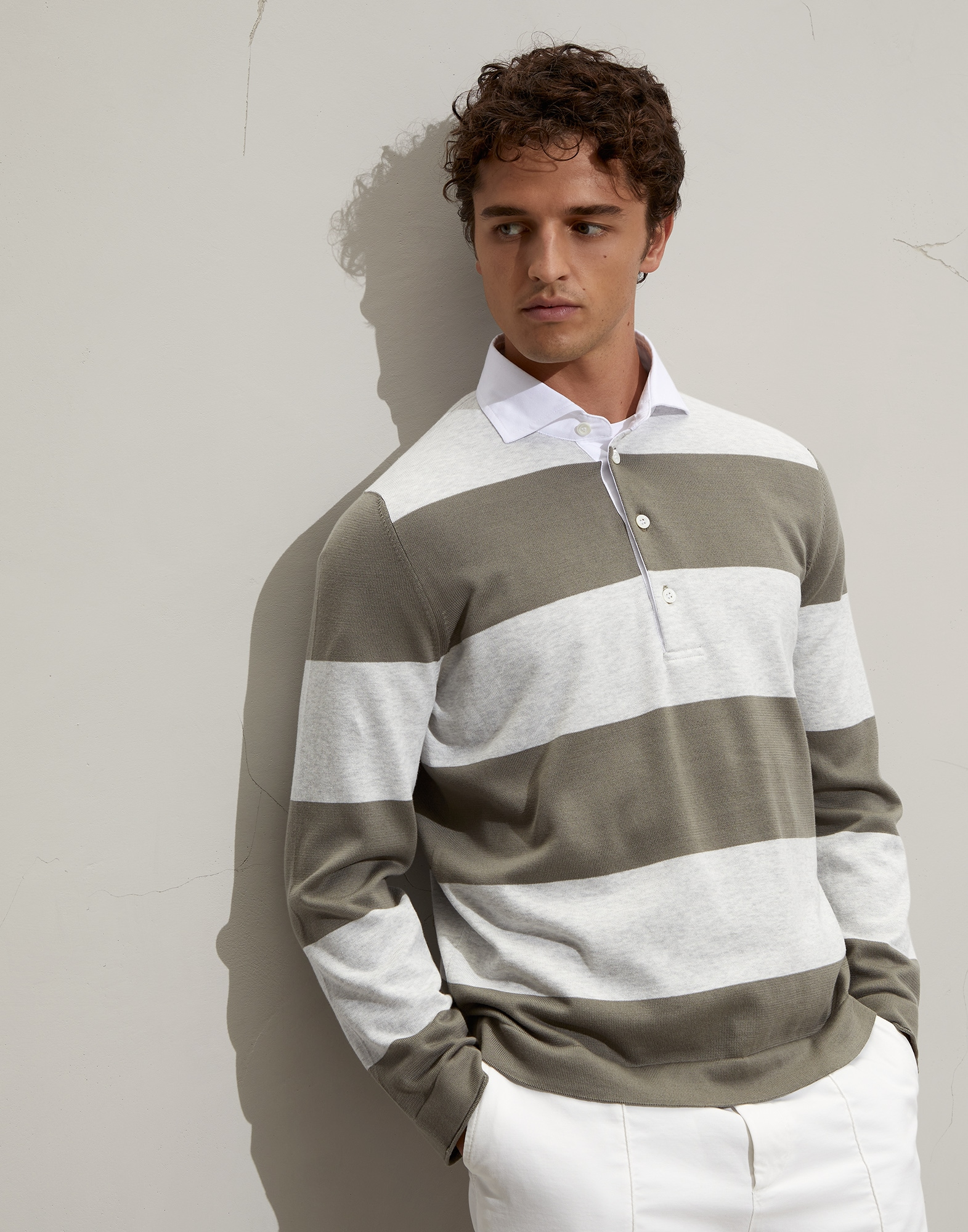 Polo-Style Sweater - Front view