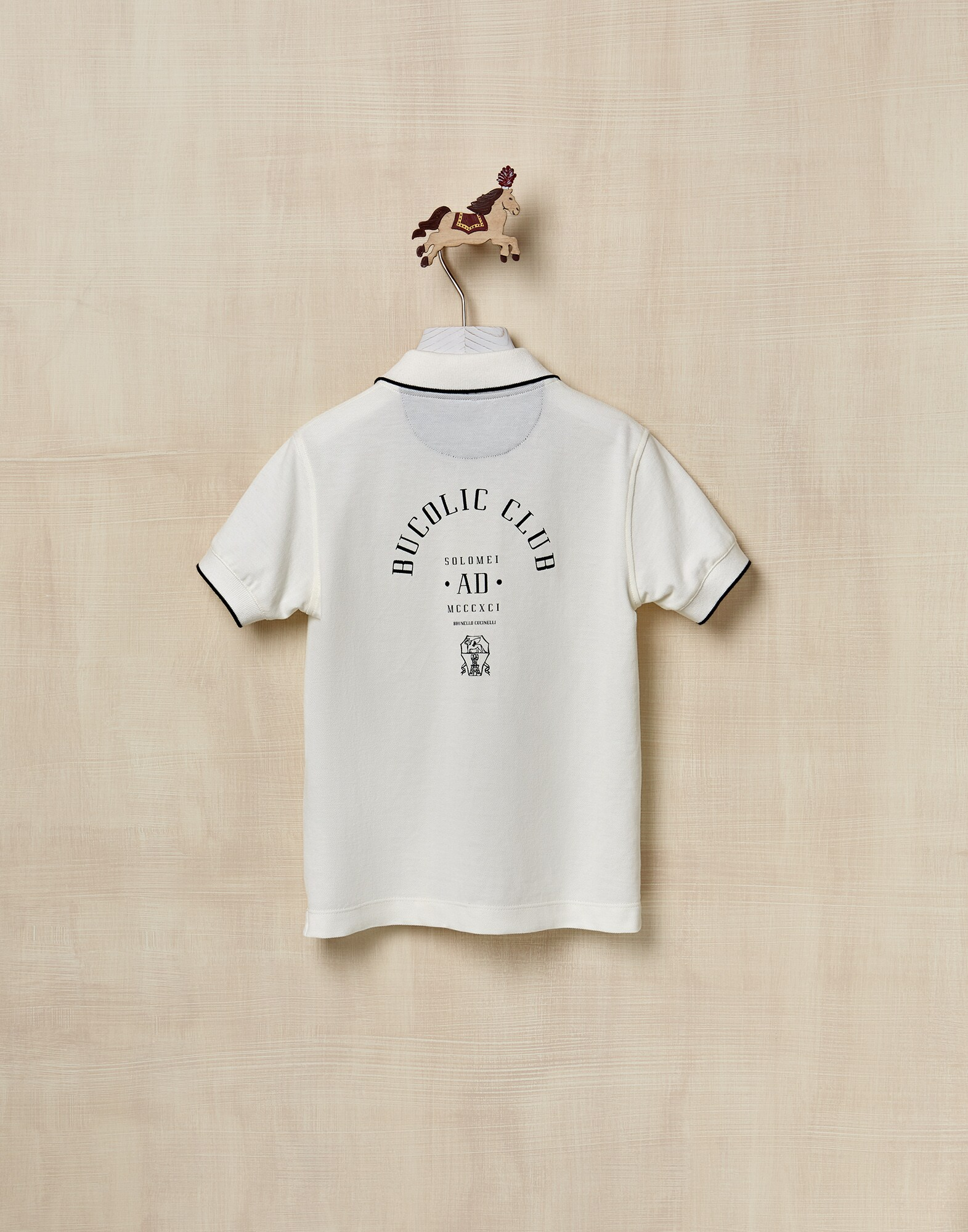 T-Shirt Off-White Boy 0 - Brunello Cucinelli