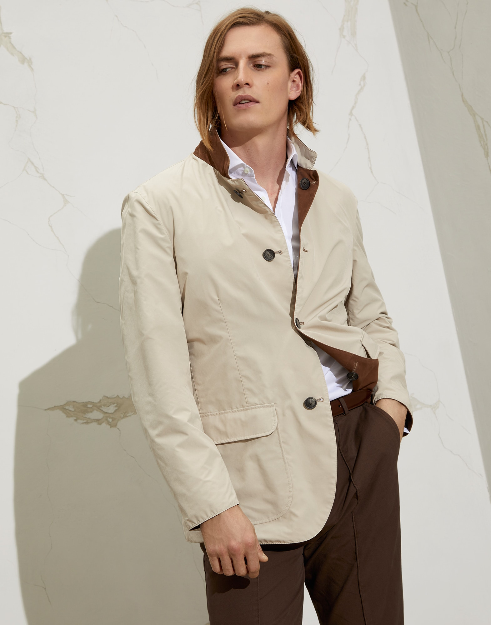 Jacket-style Outerwear - Front view
