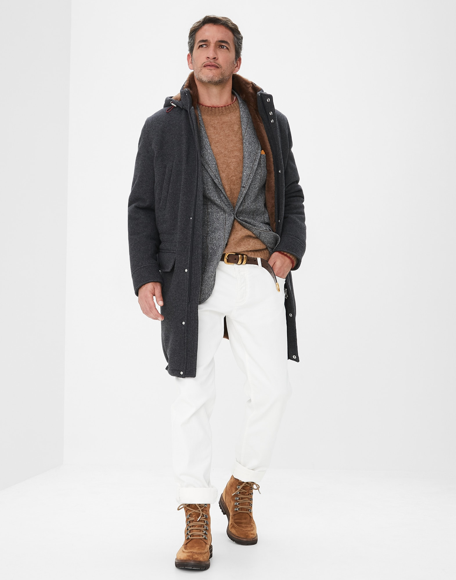 Parka Plomb Homme 4 - Brunello Cucinelli
