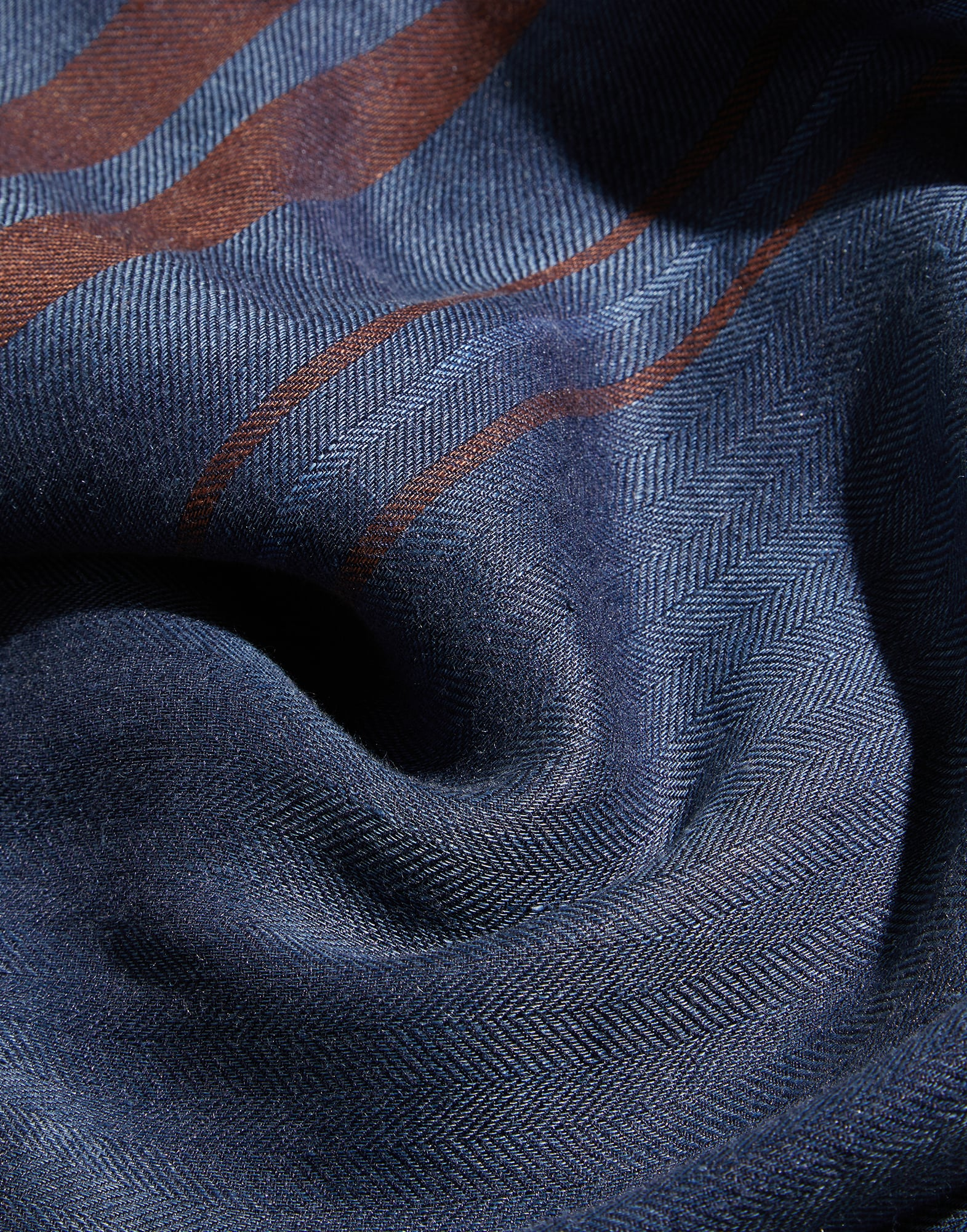 Patterned Scarf - Detail view