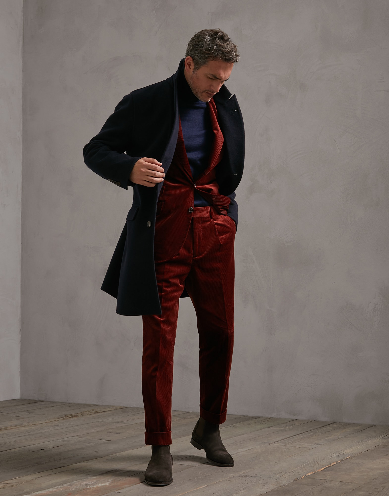 Trousers Burned Man 3 - Brunello Cucinelli