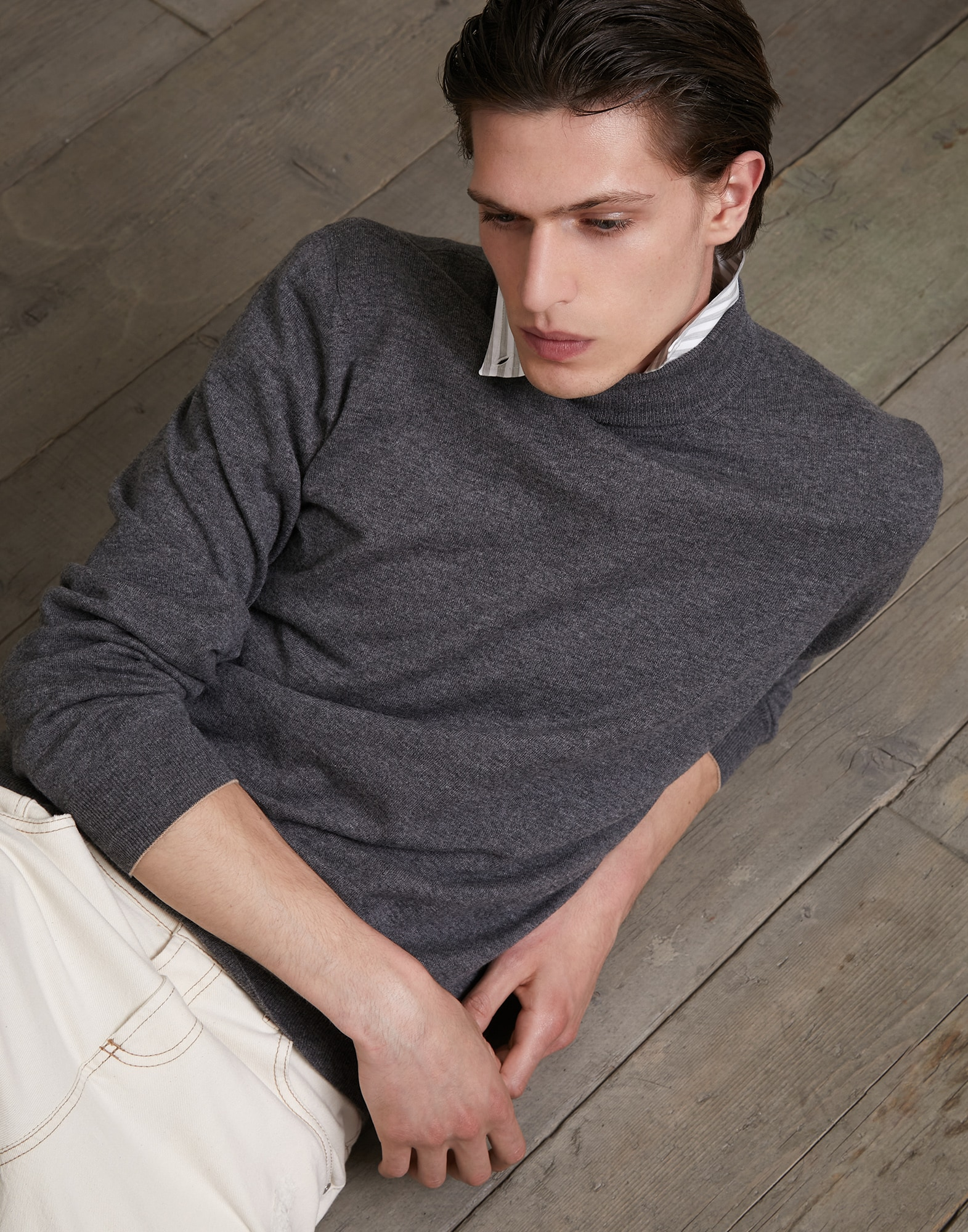 Pull Col Haut - Editorial
