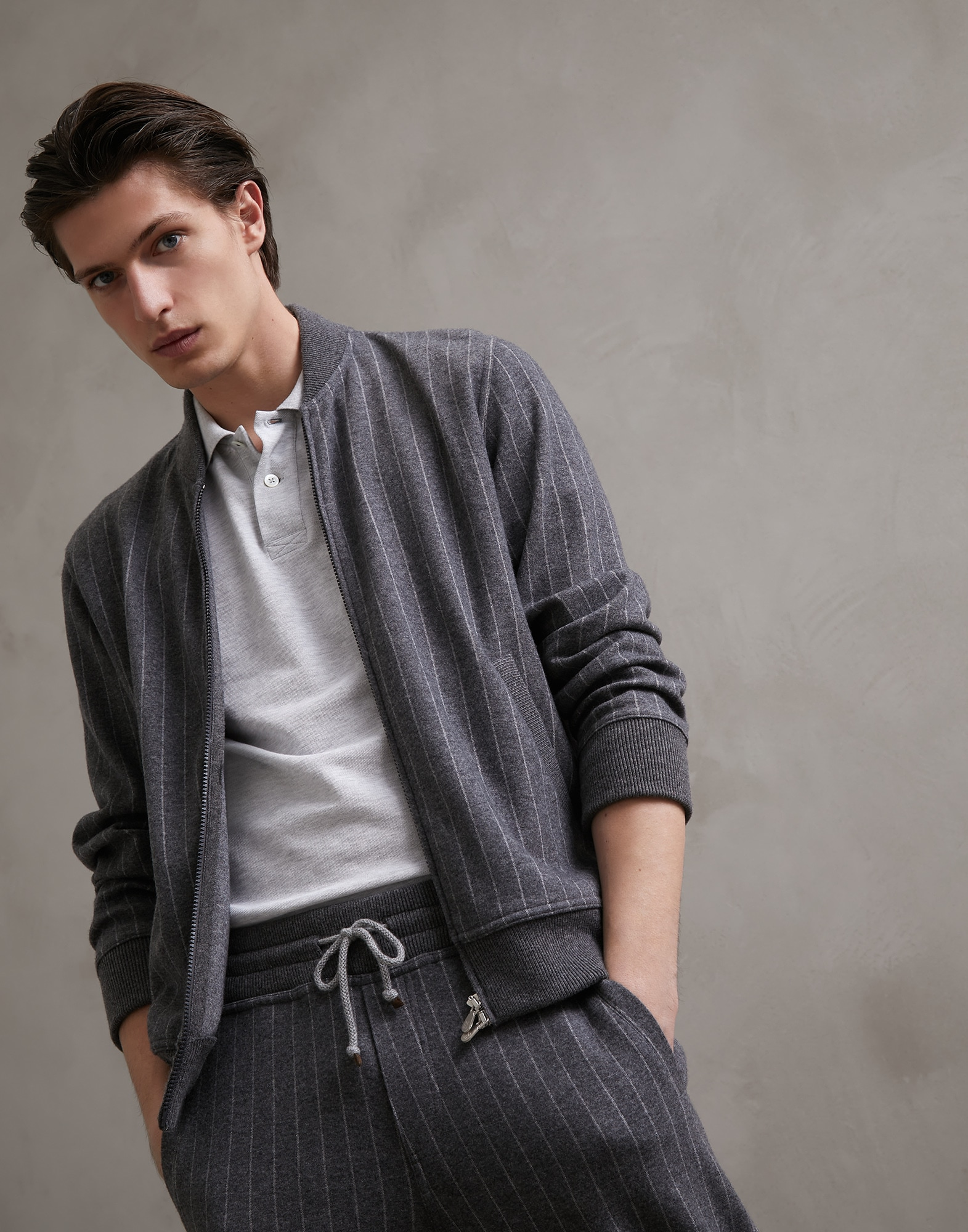 Sweatshirt Lead Man 4 - Brunello Cucinelli