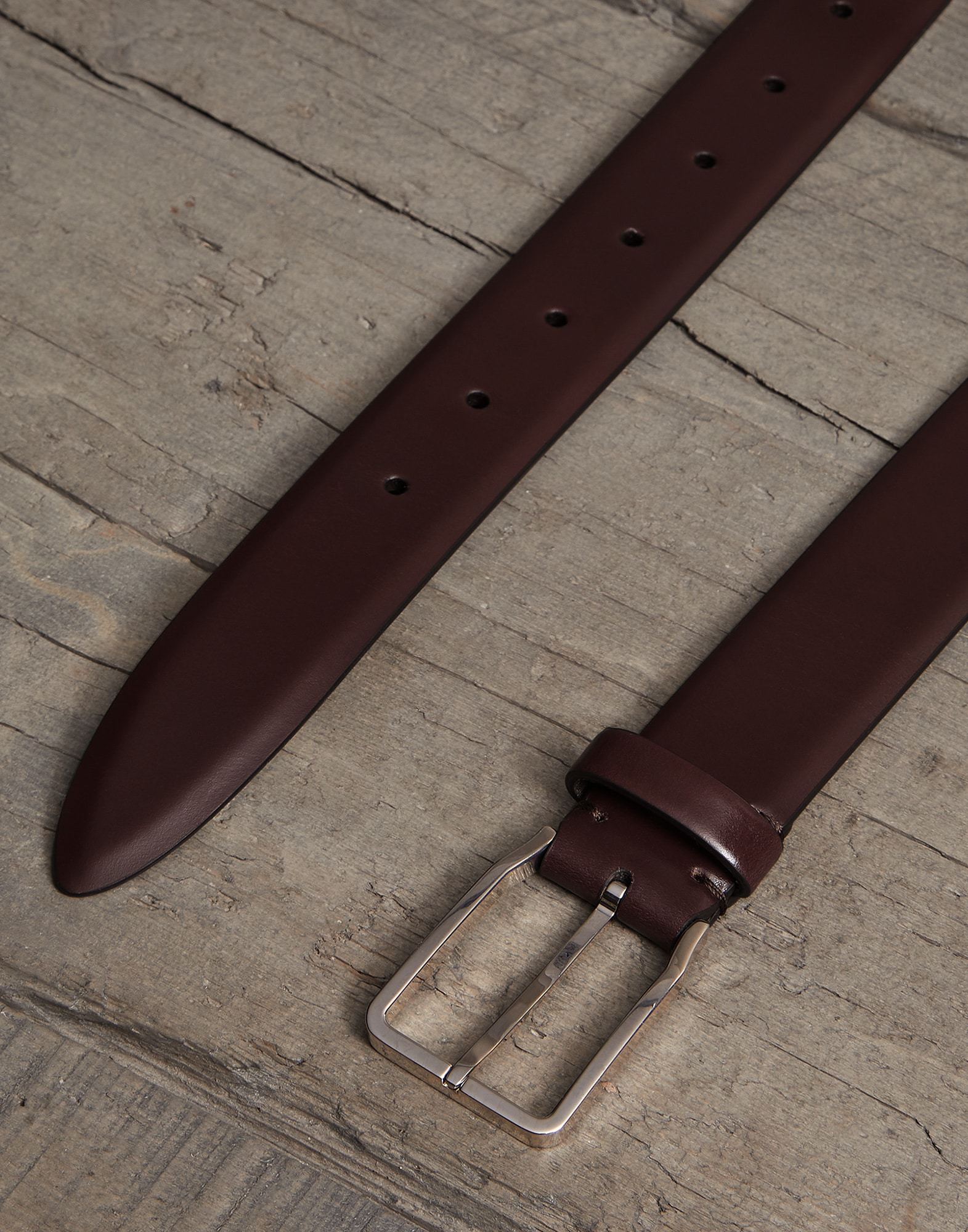 Belt Burgundy Man 1 - Brunello Cucinelli