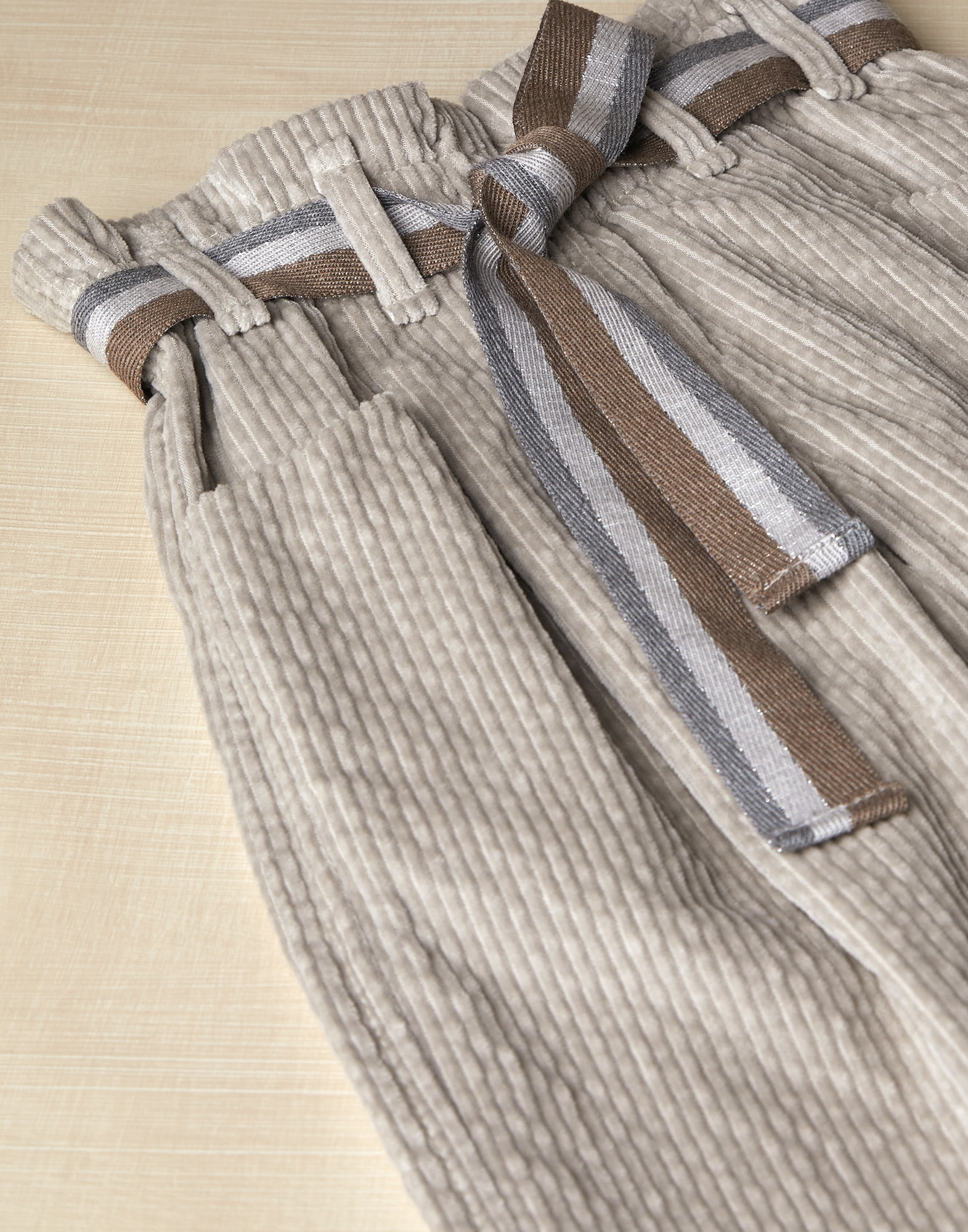 Trousers Light Brown Girl 2 - Brunello Cucinelli