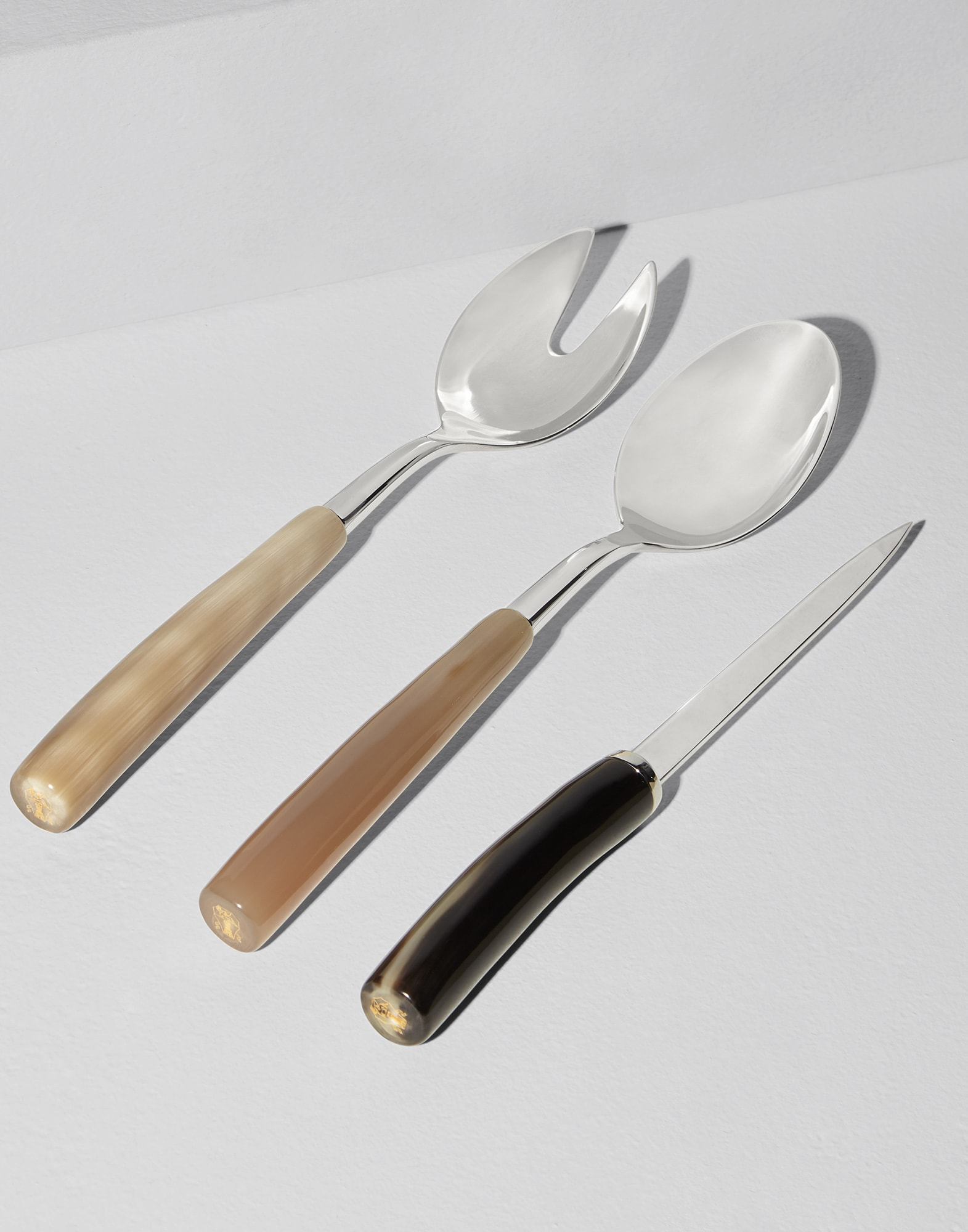 Flatware Natural Horn Lifestyle 0 - Brunello Cucinelli