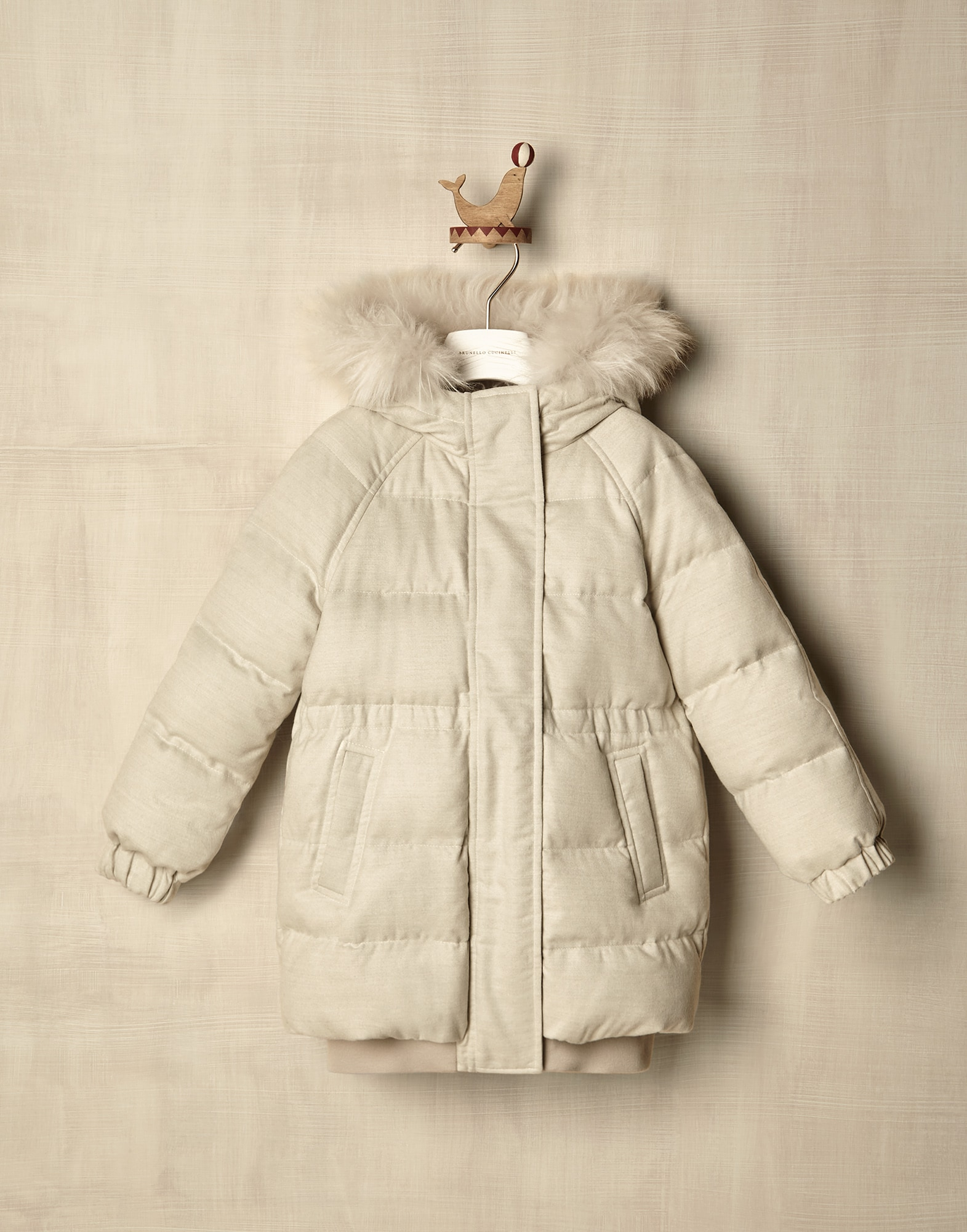 Down Jacket - Front view