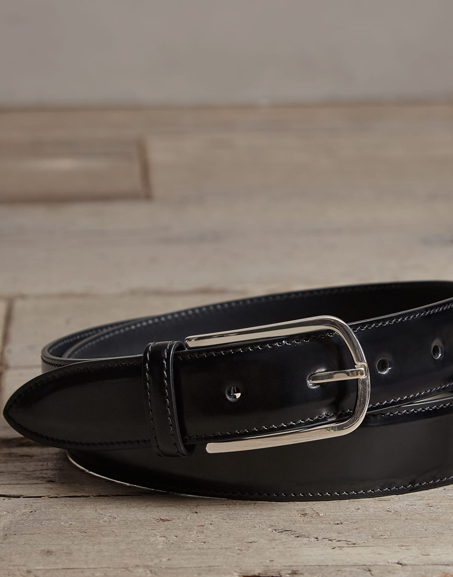 Belt Black Man 1 - Brunello Cucinelli