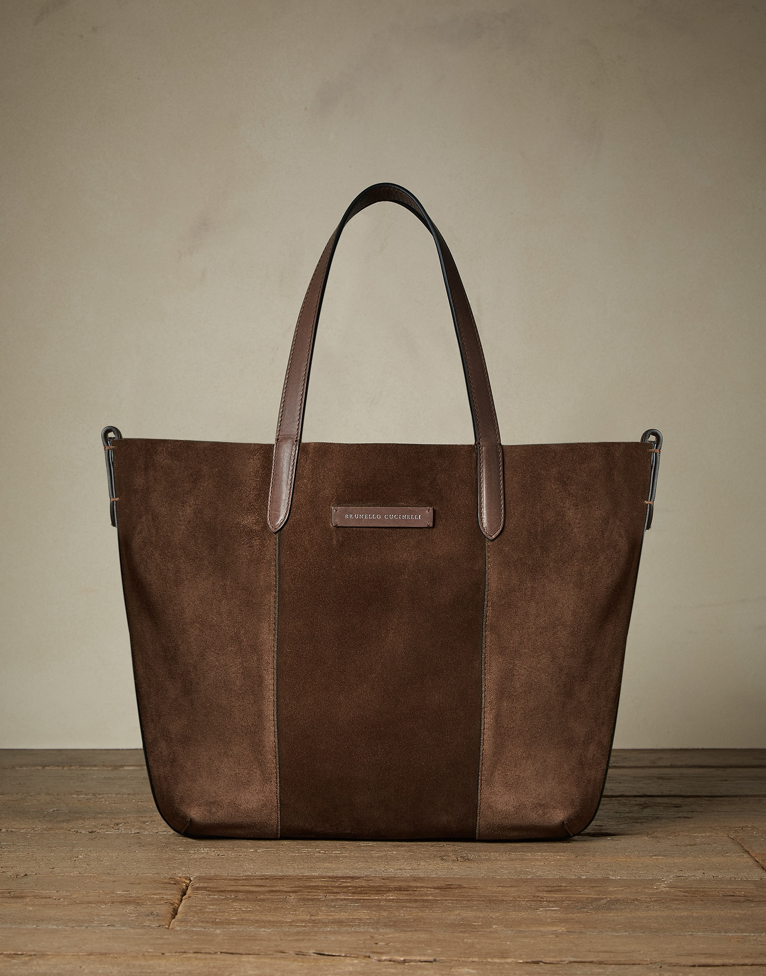 Shopper Bag Cigar Woman 0 - Brunello Cucinelli