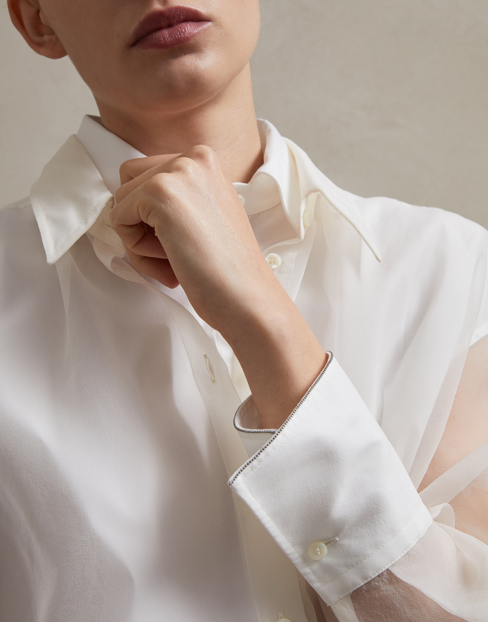 Silk Shirt - Detail
